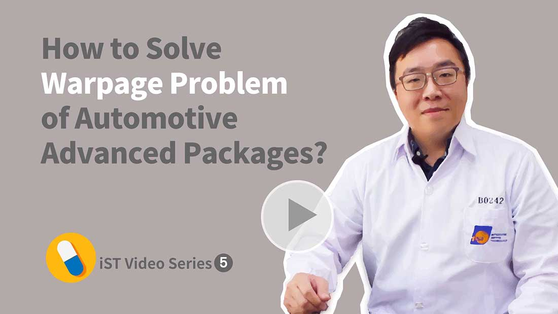 automotive advanced package warpage