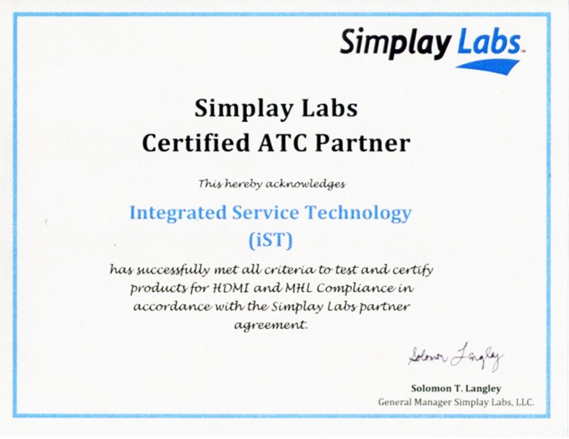 Simplay labs certified ATC Partner